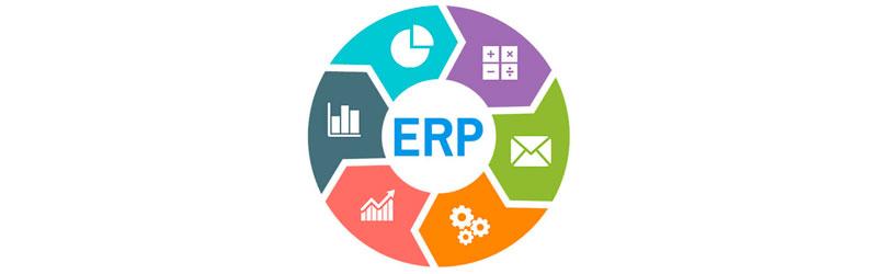 Gráfico de um sistema ERP