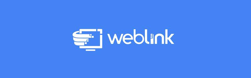 Logo da empresa weblink