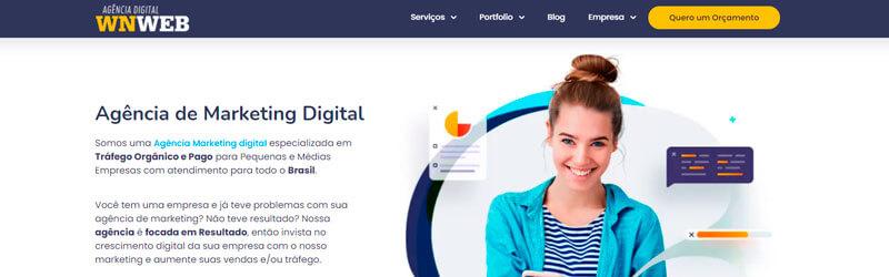 Banner da Agência Digital WnWeb