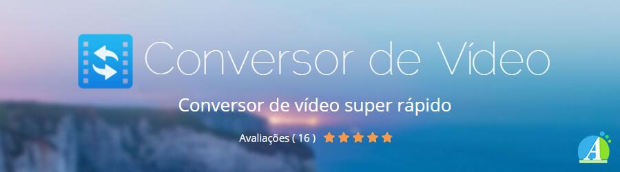 Banner do conversor de vídeos em MP3 e outros formatos da Apowersoft