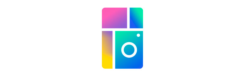 Logo da ferramenta Collage Maker