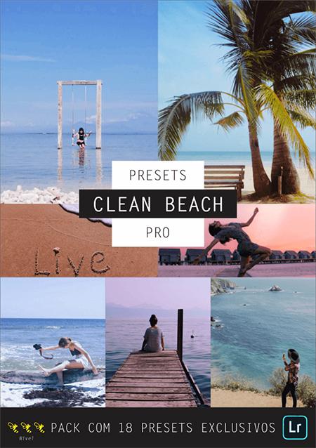 Conjunto de fotos de praia com pessoas
