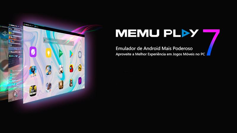 logo do emulador Memu Play