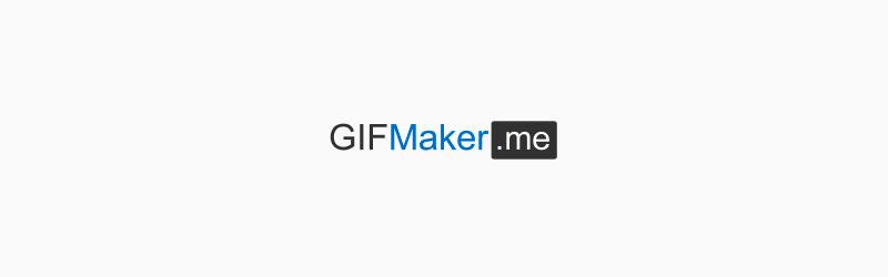 Logo GIFMaker.me