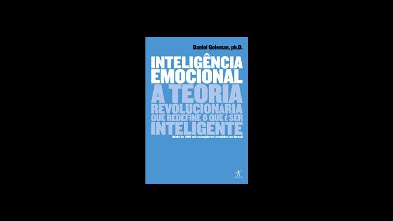 Capa do livro Inteligência emocional de Daniel Goleman