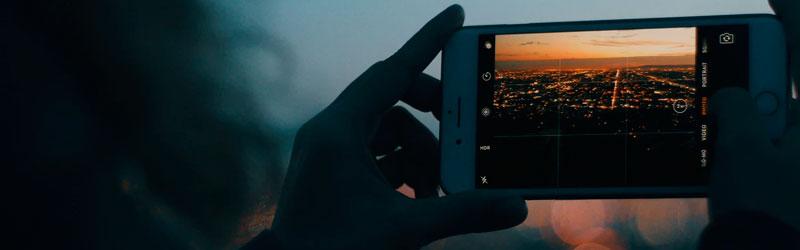 Fotografando cidade a partir do smartphone