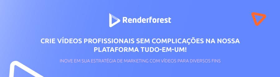 Banner da Renderforest