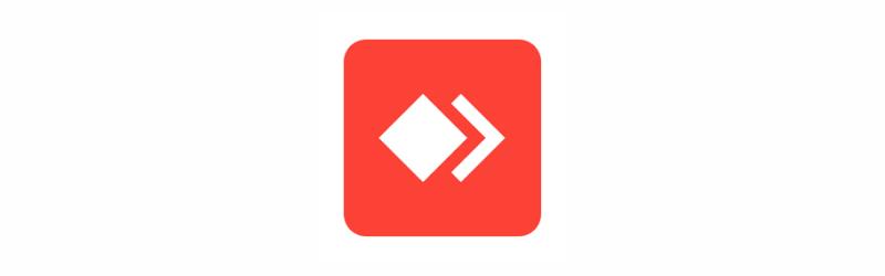 Banner com ícone vermelho do aplicativo AnyDesk
