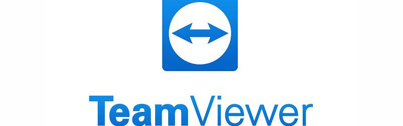 Banner com ícone do TeamViewer
