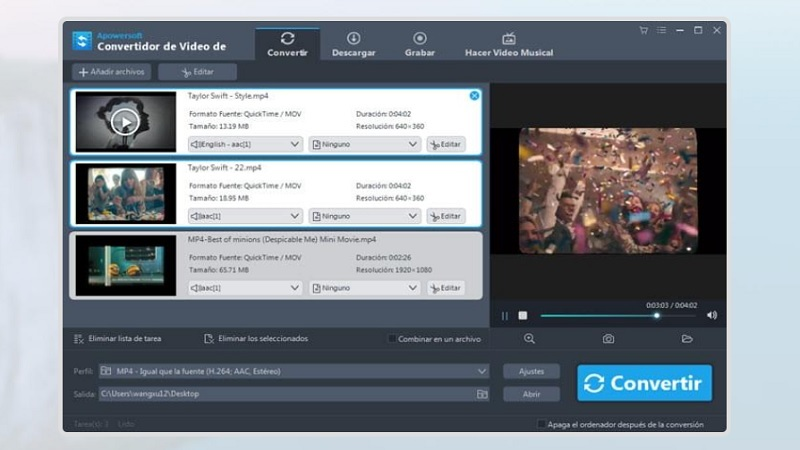 Grabar pantalla con Apowersoft