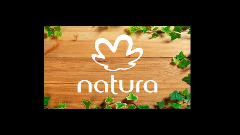 Logo da marca de cosméticos Natura.