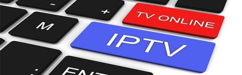 Imagem de um teclado com uma tecla de IPTV e outra de TV online