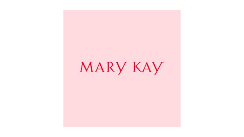 Imagem do logo da Mary Kay cosméticos.