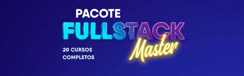 Logo do curso Pacote full-stack master