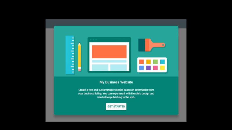 Criando um site no Google Meu Negócio