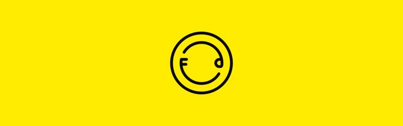 Logo do editor de fotos online Foodie