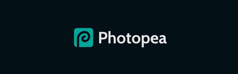 logo do editor de fotos online Photopea