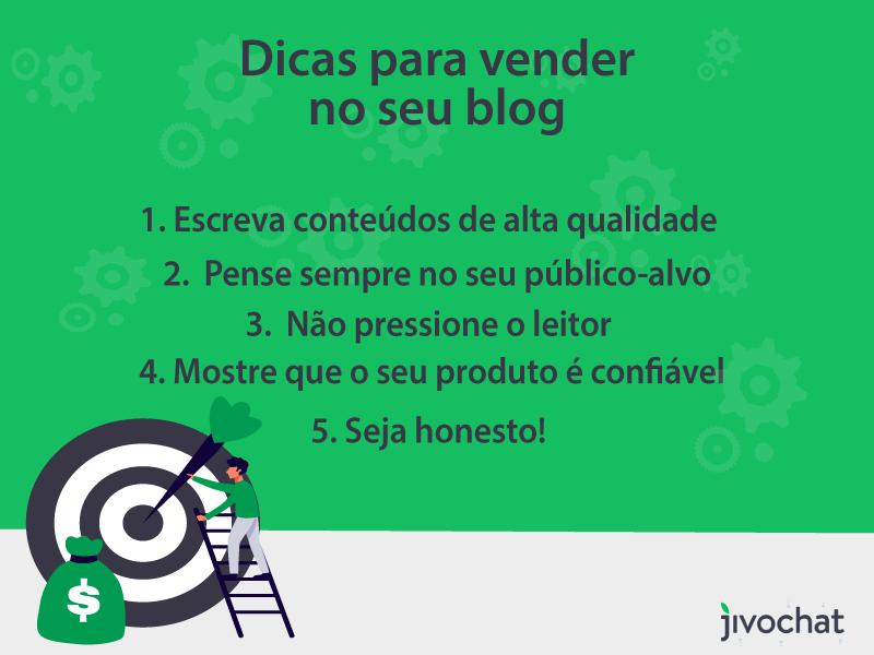 Dicas de como criar um blog e vender