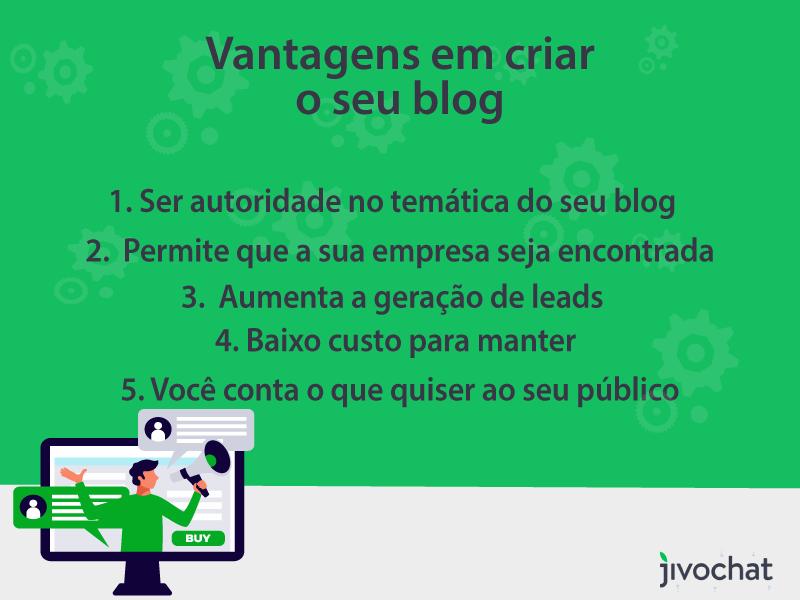 Como criar um blog e vantagens