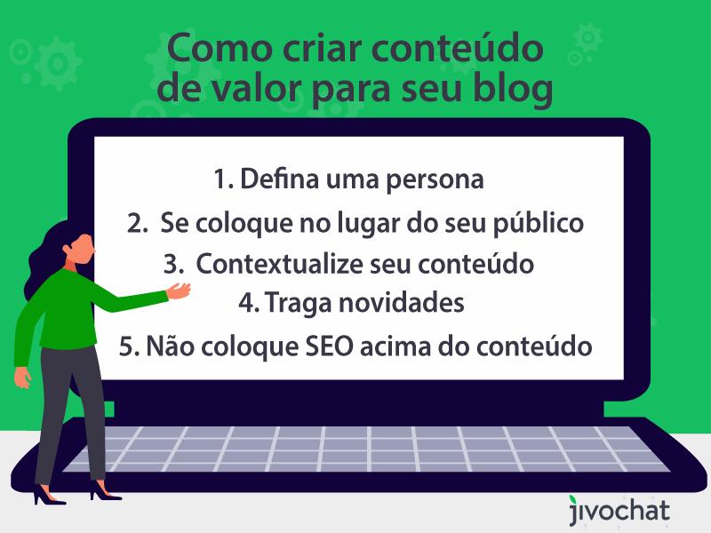 Dicas de como criar um blog e criar conteúdo de valor