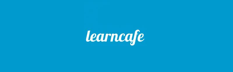 Logo da plataforma de cursos Learncafe