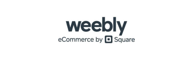 """Under the Weebly logo is written """"eCommerce by Square"""""""