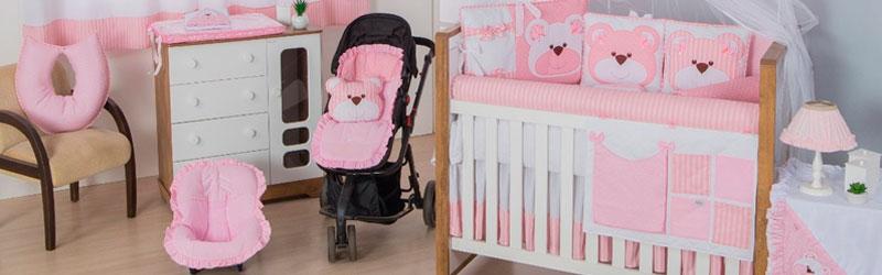 Enxoval de bebê rosa