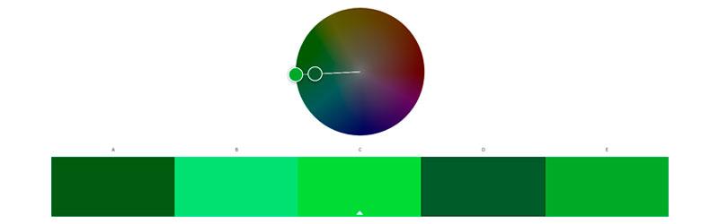 Roda de cores do Adobe Color