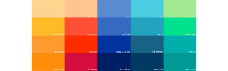 Paleta de cores do site Flat UI Colors