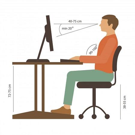 qué es una silla ergonómica y cómo usarla correctamente