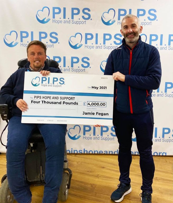 Jamie's 48 Hour Challenge for PIPS Hope and Support & Southern Area Hospice