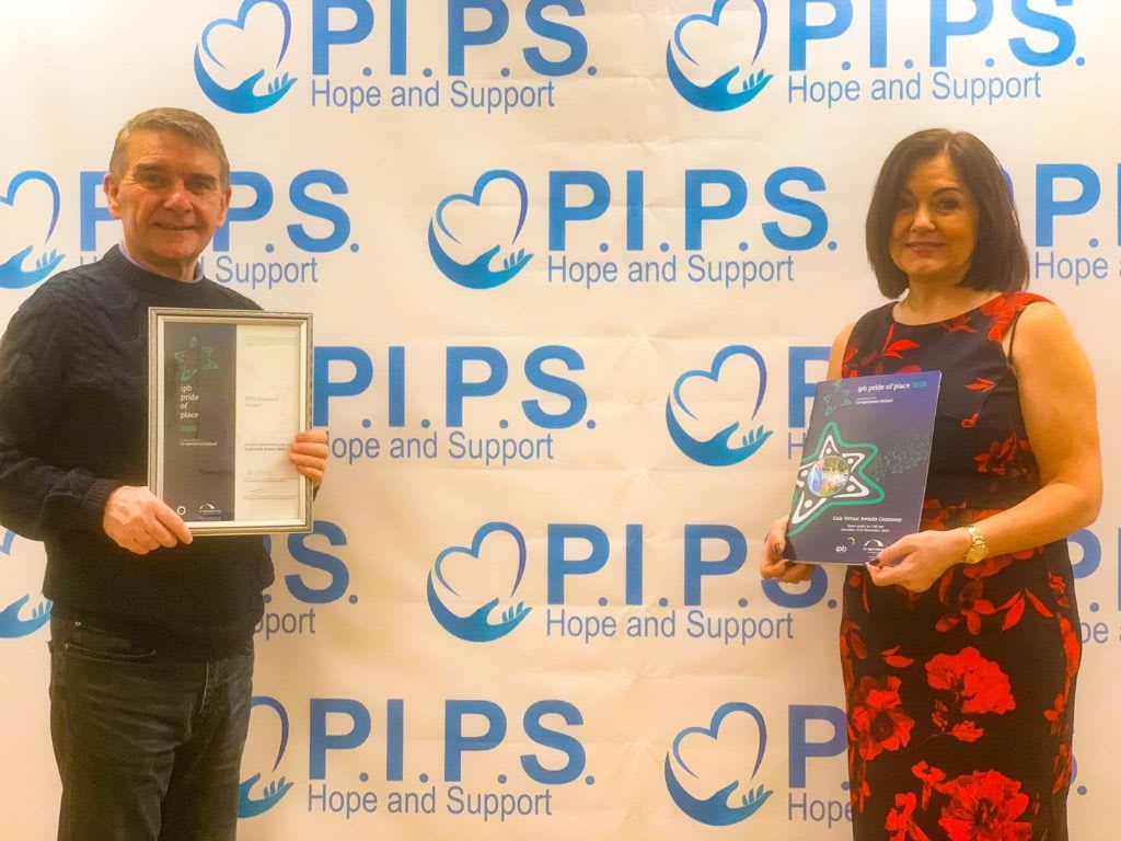IPB Pride of Place Runners up for PIPS Hope and Support
