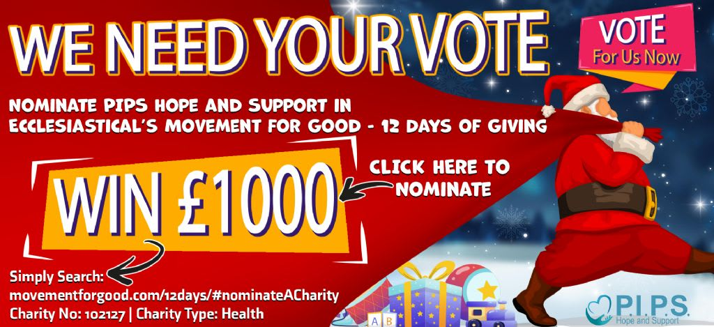 NOMINATE US TO WIN £1,000.00