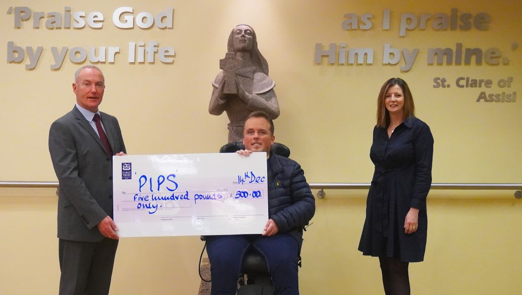 Sacred Heart's Continued Support for PIPS Hope and Support