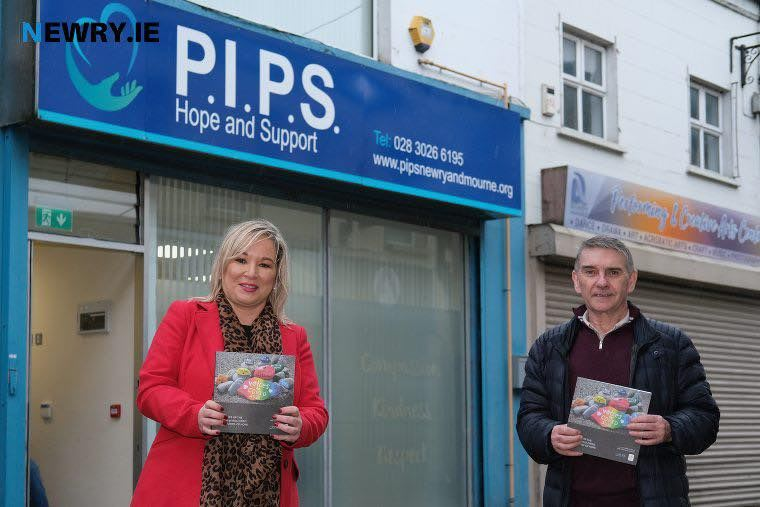 Deputy First Minister Visit's PIPS Hope and Support