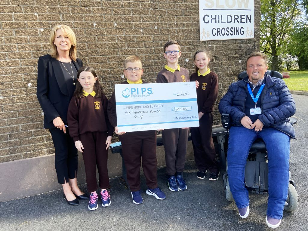 St. Malachy's PS 'Yellow Day' For Darkness Into Light