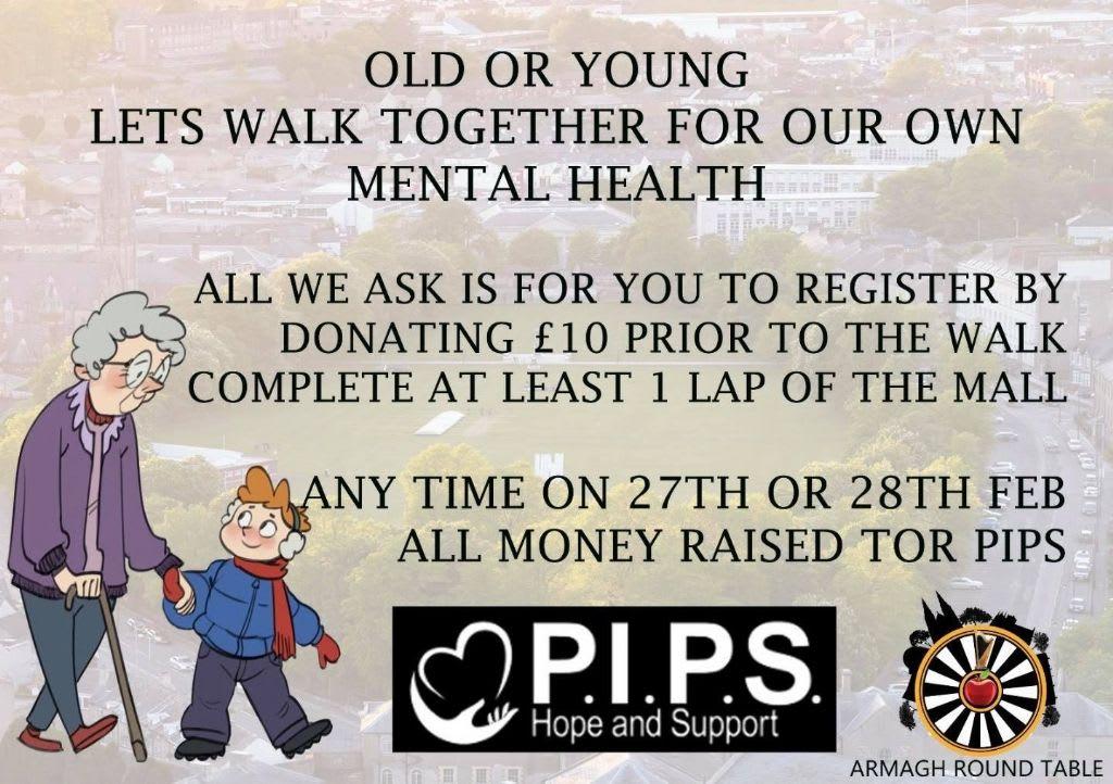 Walk Together For Mental Health