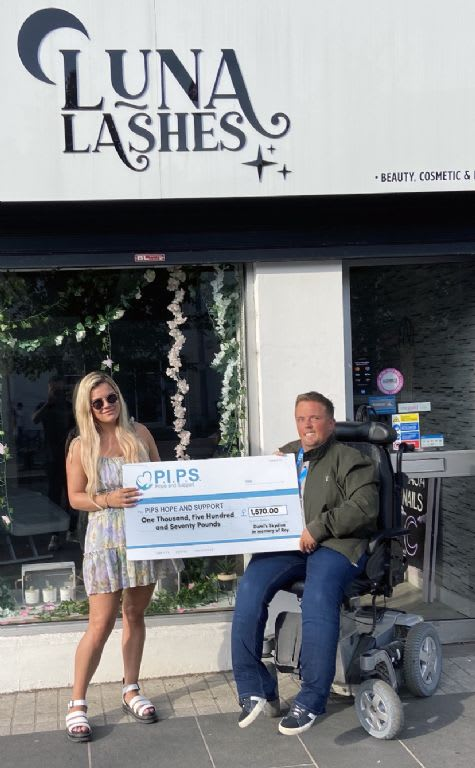 Demi's Skydive in Memory of Brother Roy
