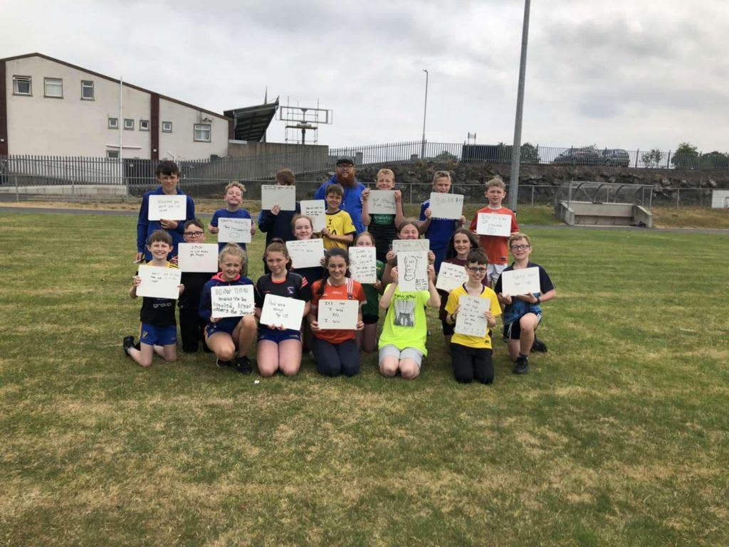 Gimme5 for Silverbridge GFC Youth Engagement Summer Scheme