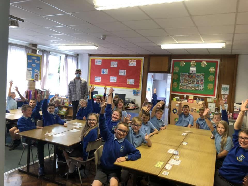 Scarva Primary School Complete Gimme5 Training