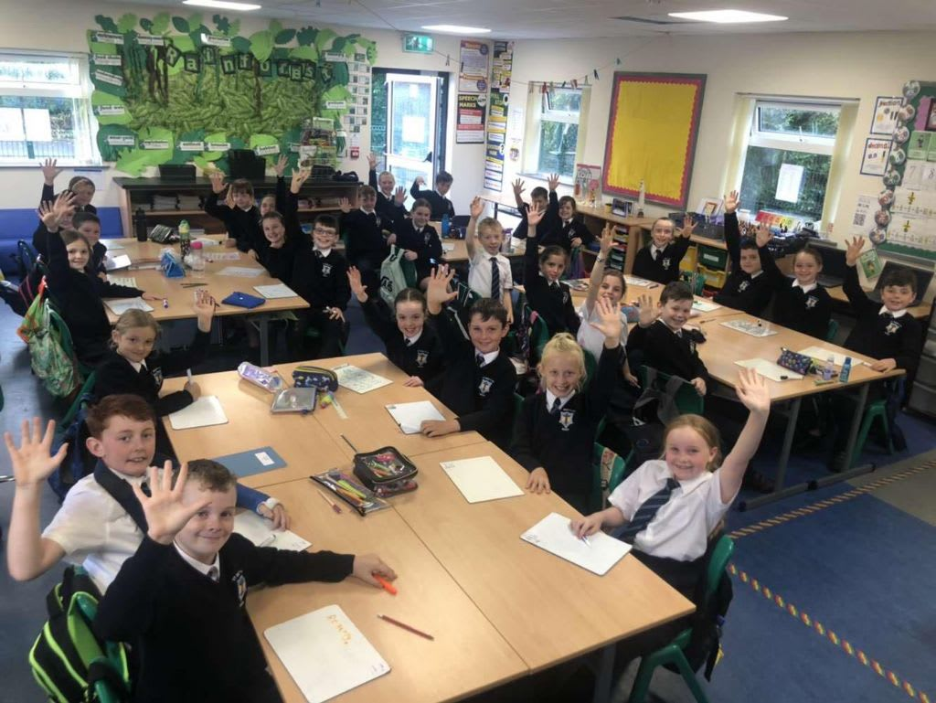 St Mary's Priamry School, Barr Develop Their Skills With Gimme5