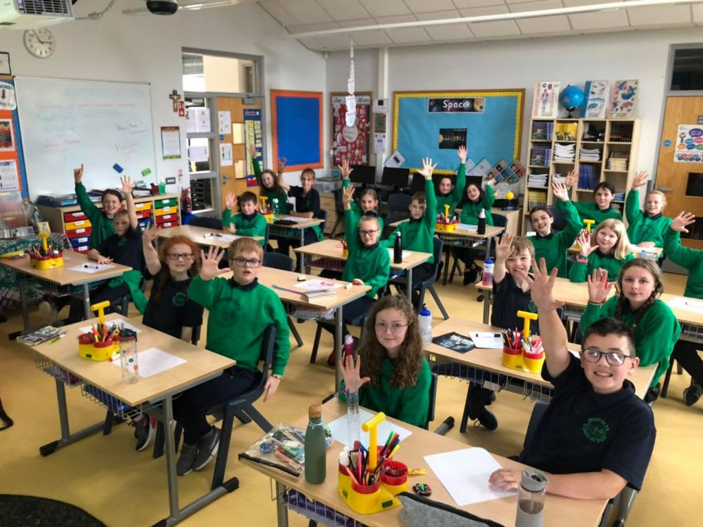 High 5 to Dromintee Primary School for Completing Gimme5