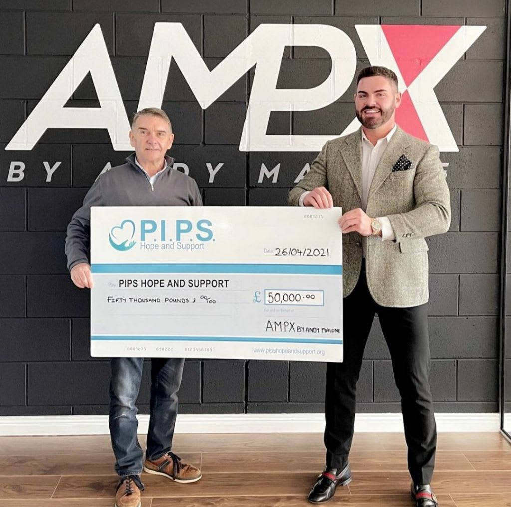 AMPX By Andy Malone Donates 50K