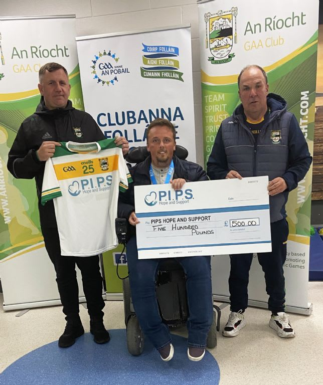 An Riocht GAA Proudly Highlights PIPS Hope and Support