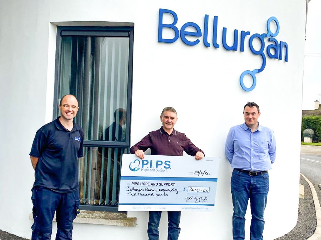 Bellurgan Precision Engineering Supports Local Charities Through Covid-19