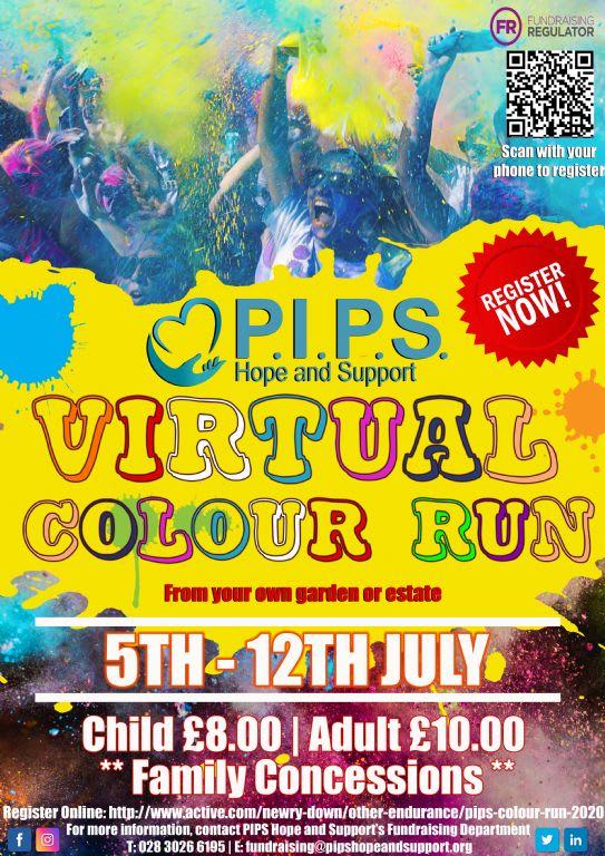 Virtual Colour Run 2020