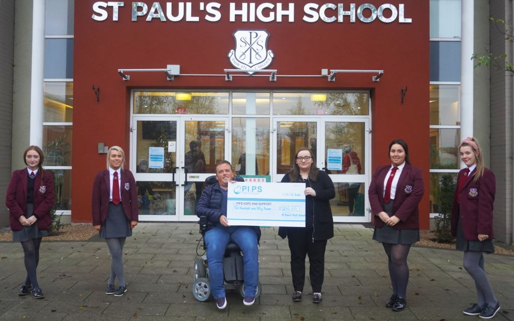 St Pauls Bessbrook Fundraiser for PIPS Hope and Support