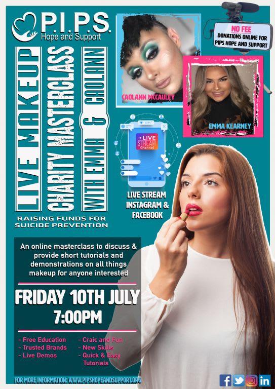 Online Makeup Masterclass with Emma & Coalann