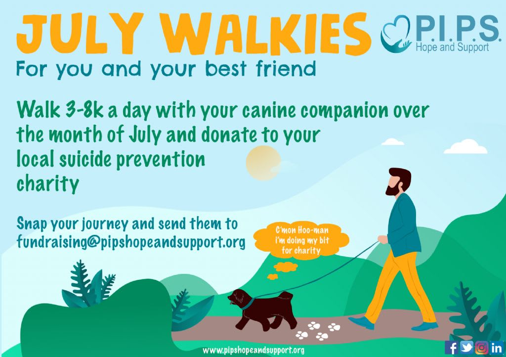 July Walkies With Your Canine Companion