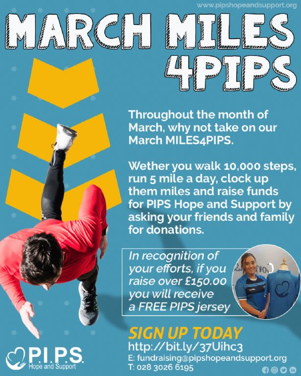 March MILES4PIPS